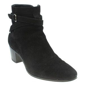 Yves Saint Laurent Ankle Bootsx Size 37 183392